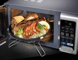 Как же изобрели микроволновую печь?