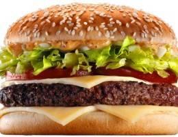 История гамбургера