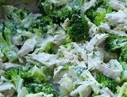 Салат брокколи
