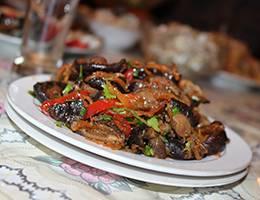 Салат с грибами Чеснок, Морковь, Грибы