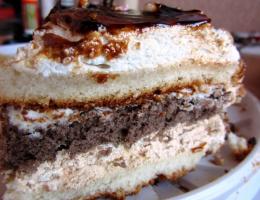Торт Три крема